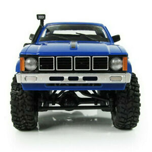 C24 Blue RC Truck Kits 4WD 1/16 Off-road Crawler Car Assemble Toy Kids DIY