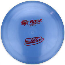 NEW Blue G-STAR BOSS Gummy Distance Driver 171g Innova Disc Golf gstar Red Foil