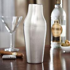 Stainless Steel French Cocktail Shaker Mixer 650ml Bartender Bar Drink Set Maker
