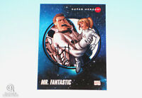 2013 Fleer Marvel Retro Mr. Fantastic Autograph Card Stefano Caselli 1992 Impel