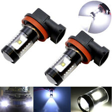 2x H8 H11 6000K 30W High Power LED Fog Driving Light Canbus Lamp Bulb White