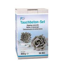 Tauch-Beton Kreativ Set CREARTEC ® 850g für Blüten, Stoff uvm. 56063