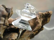 Crystal Quartz Double Pyramid Pendulum ~ Healing Dowsing Chakra Balancing 812