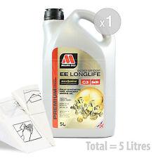 Car Engine Oil Service Kit / Pack 5 LITRES Millers NANODRIVE EE 5w-30 C3 5L