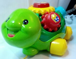 V-Tech Roll & Learn Turtle Electronic Learning Toy See You-Tube Video Durable
