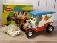 Vintage Tonka T'S Truck Apple Peeler Ford Model T Pressed Steel Toy 1335 Boxed