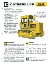Equipment Brochure - Caterpillar - D6D Sa Tractor - c1977 - 2 items (E4435)