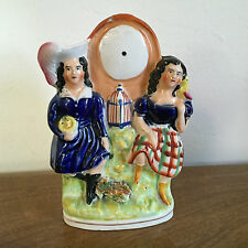 Antique 19th century English Staffordshire Pearlware Figure Scottish Victorian
