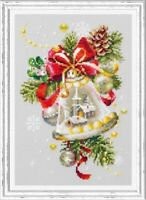 Counted Cross Stitch Kit MAGIC NEEDLE - Christmas bell