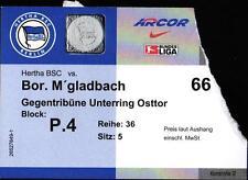 Ticket BL 2002/03 Hertha BSC - Borussia Mönchengladbach, 10.09.2002