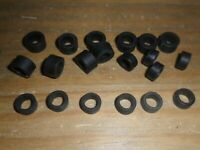 Scalextric new grippy set of 10 front + 10 rear Micro car tyres SUPERB spares