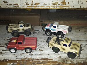 Vintage ARCO 4x4 Friction Diecast Chevy pickups
