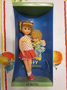 1967 boxed Vintage Barbie Buffy & Mrs Beasley dolls by Mattel TV-Family Affair