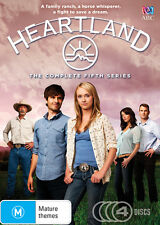 Heartland The Complete Season Series 5 DVD R4 New Heart Land