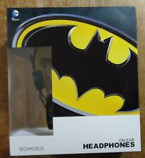 Bioworld Batman Over The Ear Headphones DC Comics Ear Pad NEW/SEALED
