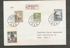 GREENLAND - Rek. Envelope Egedesminde 7/12-1971.