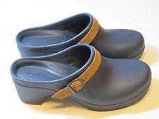 Crocs Sarah Clog Mule Duel Comfort Navy blue 20631 standard fit Womens W 5 W5