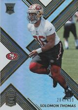 2017 DONRUSS ELITE SOLOMON THOMAS DE 49ERS ROOKIE #132 PRIZM /499 SP