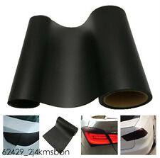 Matte Black Car Tail Lamp Protection Film Vinyl Sheet Cover Wrap For Volkswagen