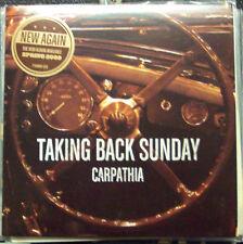 "Taking Back Sunday Carpathia 7"" Vinyl Record Store Day non lp song! RSD emo NEW!"