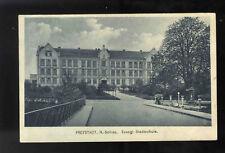 AK Schlesien Freystadt Niederschlesien Stadtschule Schule Kożuchów Polen 1927