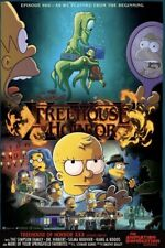 SDCC 2019 Comic Con Fox Simpsons Poster Treehouse Of Horror Stranger Things