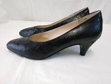 scarpe donna vintage vera pelle serpente misura 36