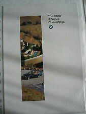 BMW 3 Series Convertible brochure 1995 ed 1