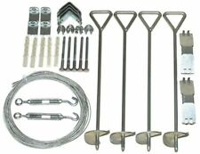 Greenhouse Anchor Kit for Palram Nature Series Outdoor Steel Wind Weather Ground