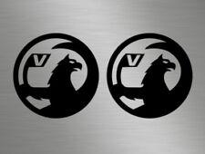 Vauxhall Corsa Vectra Car Van Front Back Side Vinyl Decals Stickers Badge Window