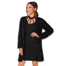Cappotti e giacche da donna boleri e coprispalli neri pelliccia