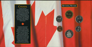 1994 Oh Canada Gift Set 6 Coins