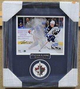 Patrik Laine Winnipeg Jets Signed and Framed Photo - Fanatics Authentic