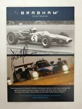 More details for coa signed david brabham project racing dynasty drivers card new condition