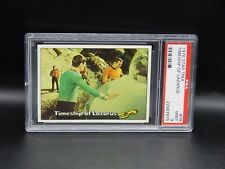 PSA 9 vintage Topps STAR TREK trading card #39 Timeship of Lazarus 1976 Spock !!