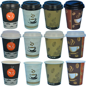 Kaffeebecher Coffee to go Pappbecher Becher Kaffebecher 0,2l Hartpapier