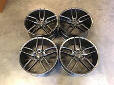 "20"" Veemann V-FS28 Wheels - Gloss Gun Metal Audi A4 A6 A8 Mercedes E Class W212"