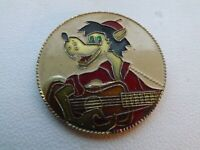 Vintage Pin Badge Soviet cartoon,Wolf and Hare.Well,hare,wait!,USSR