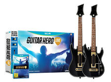 Guitar Hero-Live incl. 2x guitare pour Nintendo wii u | Bundle | article neuf