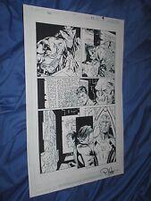 GREEN LANTERN #35 Original Art Page #9 ~Billy Tan/Rob Hunter JLA/MOVIE Kilowog Comic Art