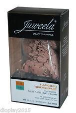 """Juweela® Flachziegel """"Biberschwanz"""" altrot 1:32/35 Keramik 500 Stk. / 23118"""
