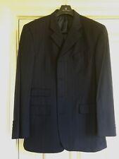 "Jasper Conran Navy with Pink Pinstripe wool suit. Size 42"" Regular"