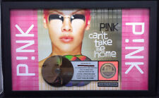 PINK Can't Take Me Home 2001 RIAA Multi-Platinum CD Award Plaque