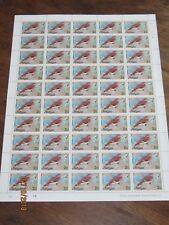 Antigua and Barbuda  Feuille de 50 timbres **  2 cents zenaida dove 1976