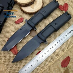 Tactical Camping Hunting Straight Knife Survival Fixed Blade