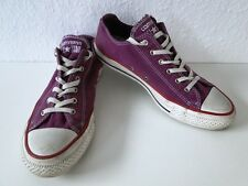 Converse All Star Chucks Sneaker Turnschuhe Slim Low Stoff Lila Gr. 5 / 37,5