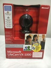 MICROSOFT LIFECAM VX - 1000 WEBCAM - NEW IN BOX - MODEL 1080