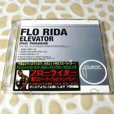 Flo Rida - Elevator feat. Timbaland USA Official Promo CD 3 Tracks RARE #0704