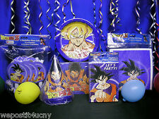 DragonBall Z Party Set # 8 Dragon Ball Z Party Supplies with Dragon Favors