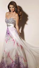 NWT PAPARAZZI by MORI LEE 91046 White Lilac $378 Gown14
